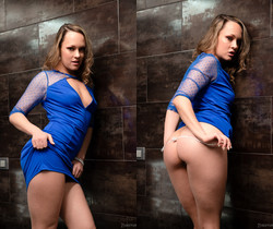 Blue Angel - An Angel In Blue: Naughty In Public - 21Sextury