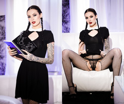 Very Adult Wednesday Addams - Marley Brinx - Burning Angel