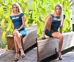 Angelina - Hottie In The Blue - FTV Girls