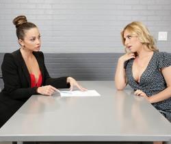 Abigail Mac, Lindsey Cruz - Getting Her Client Off