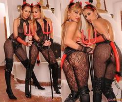 Regina Ice & Lee Lexxus Eating Pussy - Lezbo Honeys