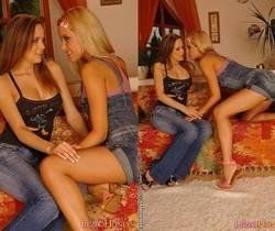 Sophie Moone & Claudia Licking Pussy - Lezbo Honeys