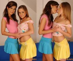 Nella & Kristy Playing Lesbians - Lezbo Honeys