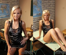 Mandy Bright & Barbie White Dominatrix - Mighty Mistress