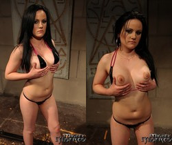 Mandy Bright & Estella Lesbian BDSM - Mighty Mistress