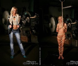 Angela Winters & Sabrina Sweet Lesbian Slave