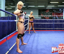 Lee Lexxus & Nikky Thorne - Wrestling Girls