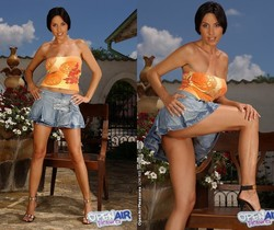 Eva Black Playing Outdoors - Open Air Pleasures