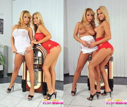 Lesbian Sex with Dorothy Black & Wivien