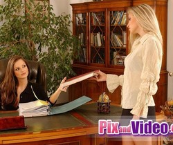 Dirty Lesbians Sandra Shine & Alyssa