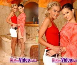 Lesbian Action with Eve Angel & Lotty