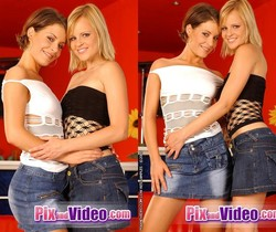 Lesbian Sex with Jo & Lara Craft