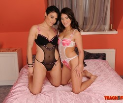 Tiffany Doll & Tess Girl on Girl Fisting - Teach Me Fisting