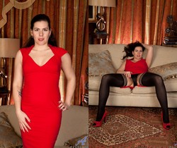 Sharlyn - Lady In Red - Anilos
