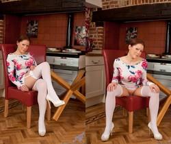 Miah Croft - Stockings And Heels