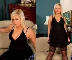 Anna Joy - Double End Glass Dildo