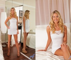 Alysha Rylee - Tight White Dress