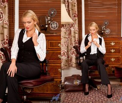 Amber Jayne - Office Tits - Anilos