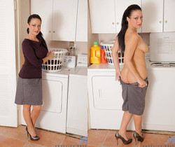 Angelica Raven - Laundryroom Play