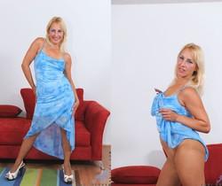 Andi Roxxx - Blue Dress - Anilos