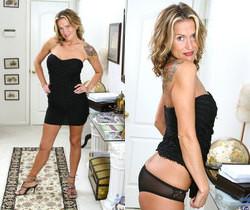 Jolie - Black Dress - Anilos