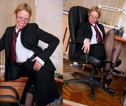 Olga - Office Cougar - Anilos