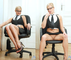 Luceana - Office Masturbation