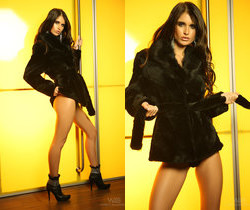 Fur coat - Nessa - Watch4Beauty