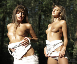 Russian Teen Model Talia Outdoor