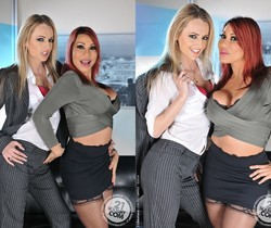 FFM Threesome with Ava Devine & Natasha Starr