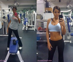 Janessa Brazil - Nude Hot GF College Girl at Gym