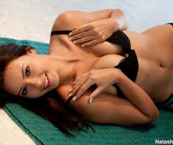 Natasha Belle - On Floor In Panties