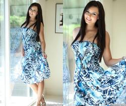 Natasha Belle - Blue Dress