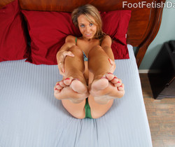 Hannah West Soles and Toes