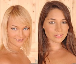 Miranda & Zafira - Euro Girls on Girls