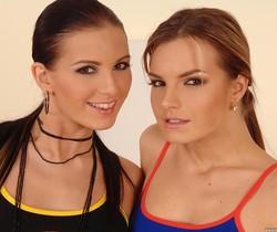 Mili Jay & Suzie Carina - Euro Girls on Girls