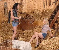 Lee Dia & Lolly Blond - Euro Girls on Girls
