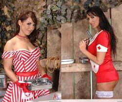 Mandy Bright & Maria Belucci