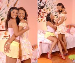 Klaudia & Sabrina Sweet - Euro Girls on Girls