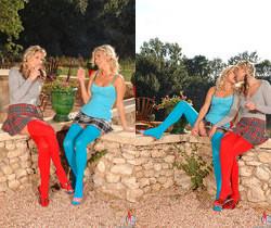 Gina & Laura Crystal - Euro Girls on Girls