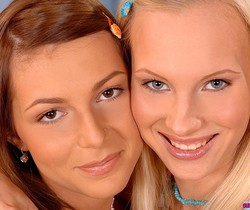 Gitta Blond & Jennifer Love - Euro Teen Erotica