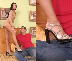 Cristina Bella - Hot Legs and Feet