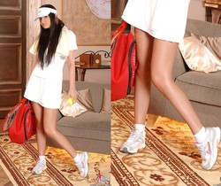 Angel Kiss tennis nudes - Hot Legs and Feet