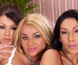 Mya Diamond, Pamela & Priscilla