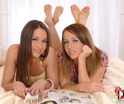Irina Bruni & Kitty Cat - Hot Legs and Feet