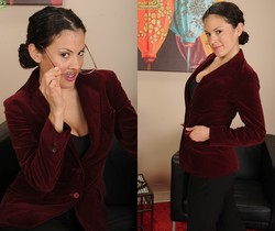 Alejandra - naughty job interview