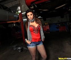 Kimberly - Swallow It All - 8th Street Latinas