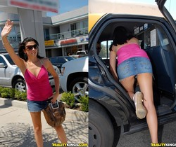Danica - Taxi Cab Seduction - 8th Street Latinas