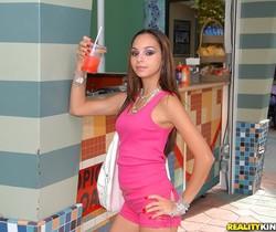 Ariel - Nipple Nibble - 8th Street Latinas