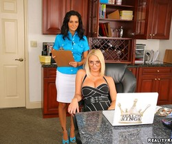 Ava Addams & Molly Cavalli - Big Tits In Charge